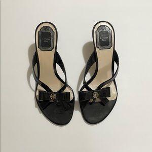 Dior heels blk